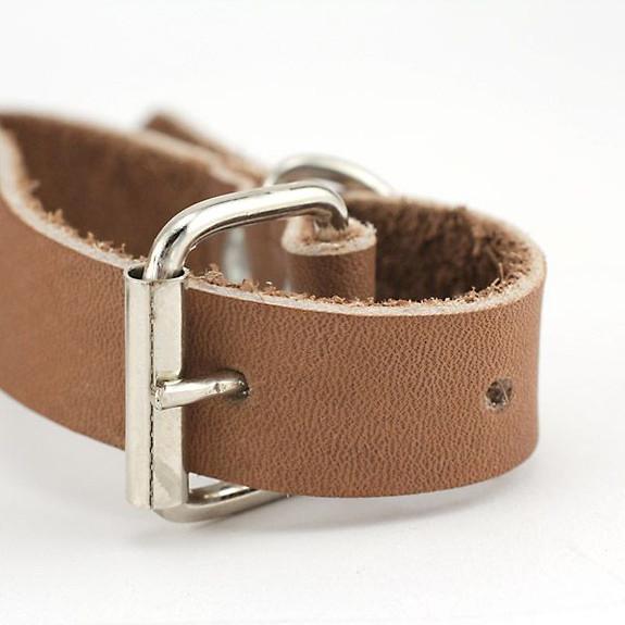 Personalized St. Bernard Dog Collar with Engraved Mini Barrel Belt