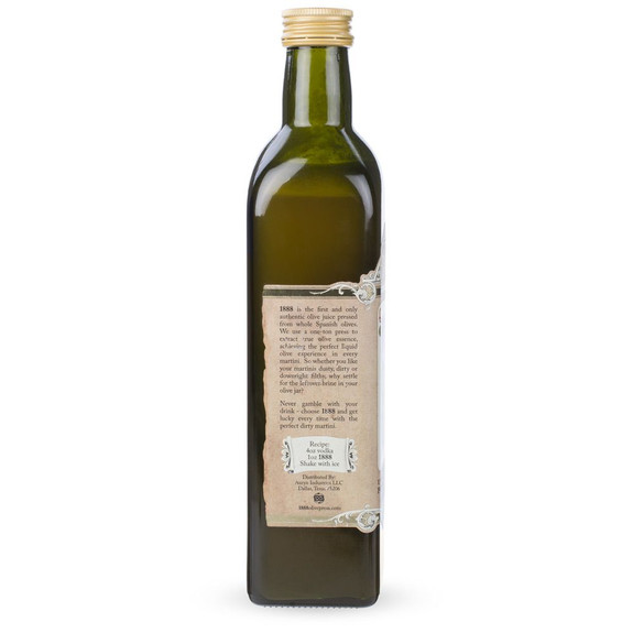 1888 Dirtiest Martini Premium Spanish Olive Juice Mix - 500ml