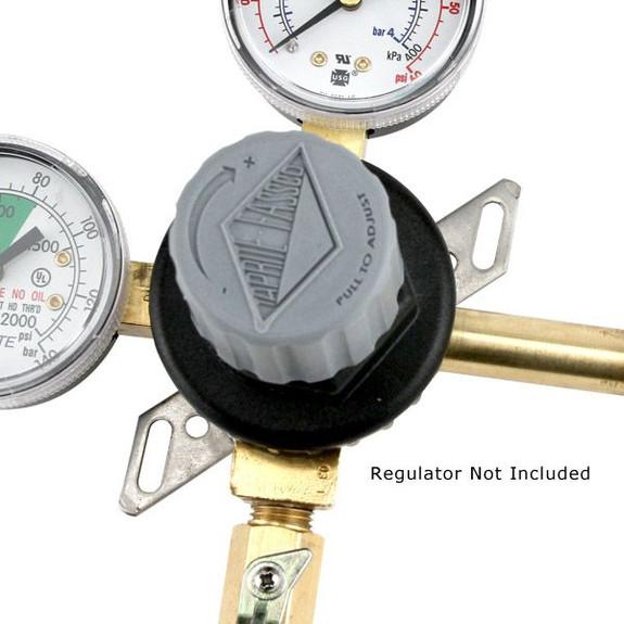 Metal Mounting Bracket for Taprite Regulators Front View