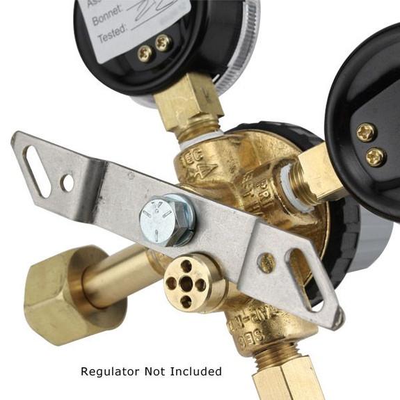 Metal Mounting Bracket for Taprite Regulators Back