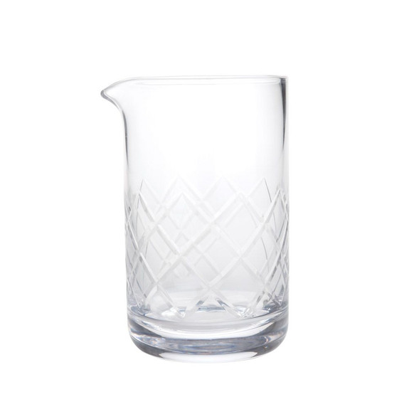 Viski Professional Yarai Crystal Mixing Glass - 500ml