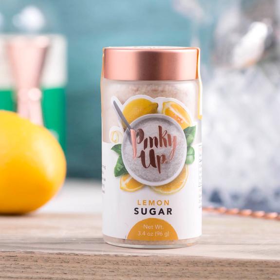 Lemon Flavored Cocktail Sugar - 3.4 oz
