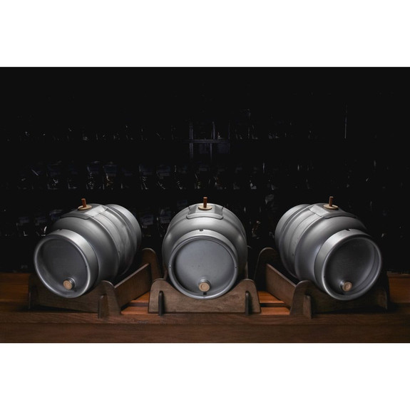 Pin Cask for Real Ale - Stainless Steel - 5.4 Gallons