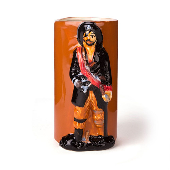 Pirate Ceramic Tiki Mug - 14 oz