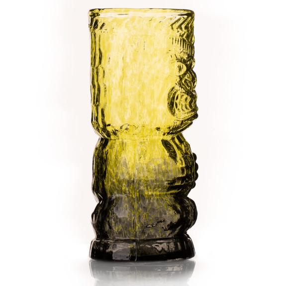 O.G. Jungle Fog Handcrafted Mold Blown Glass Tiki Mug - 13 oz