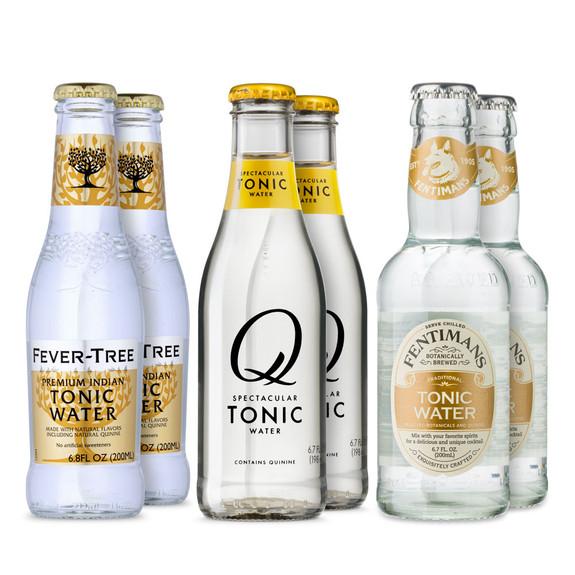 Premium Tonic Water Sample Pack - Set of 6