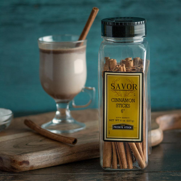 "Savor Cinnamon Sticks - 6""L - 8 oz"