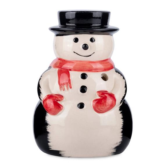 Snowman Ceramic Tiki Mug - 12 oz