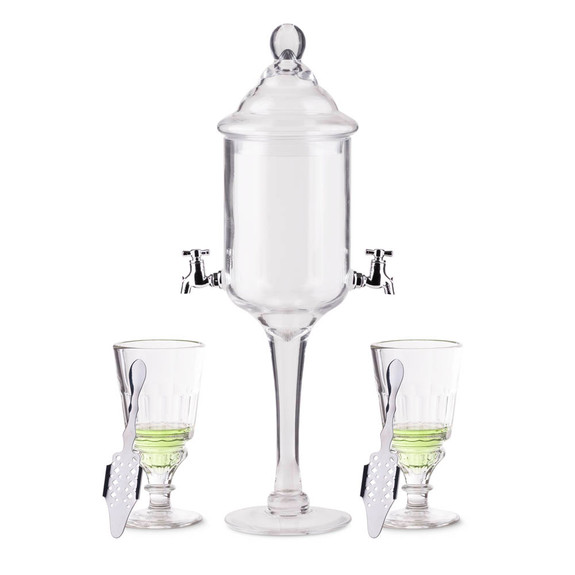 Deluxe Absinthe Accessories Kit - 5 Pieces