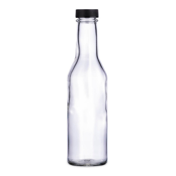 Cocktail Bitters Clear Glass Dasher Bottle - Empty - 8 oz