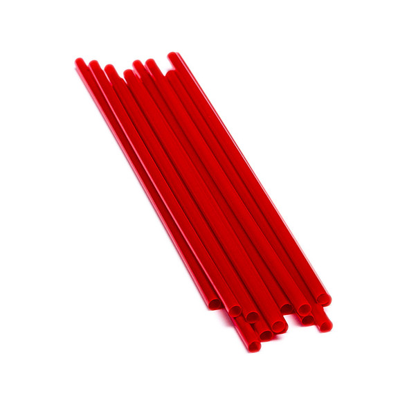 "Cocktail Sip Stirrer Red Drink Straws - 1000 Count - 5""L"