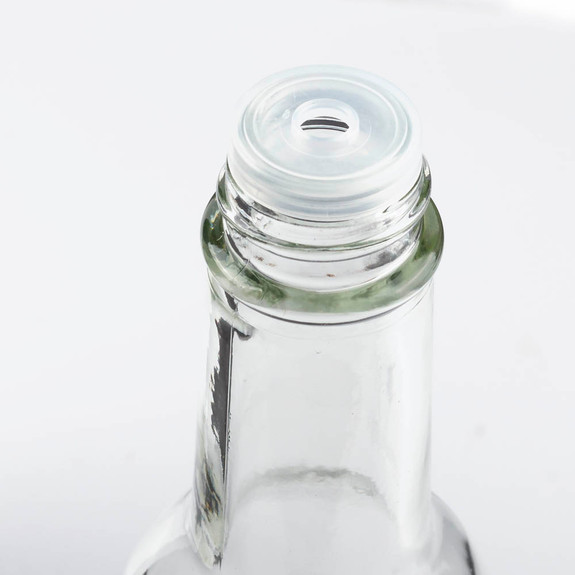 Hot Sauce Clear Glass Dasher Bottle - Empty - 5 oz