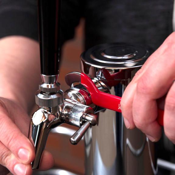 Economy Beer Line Cleaning Kit - 4oz Liquid