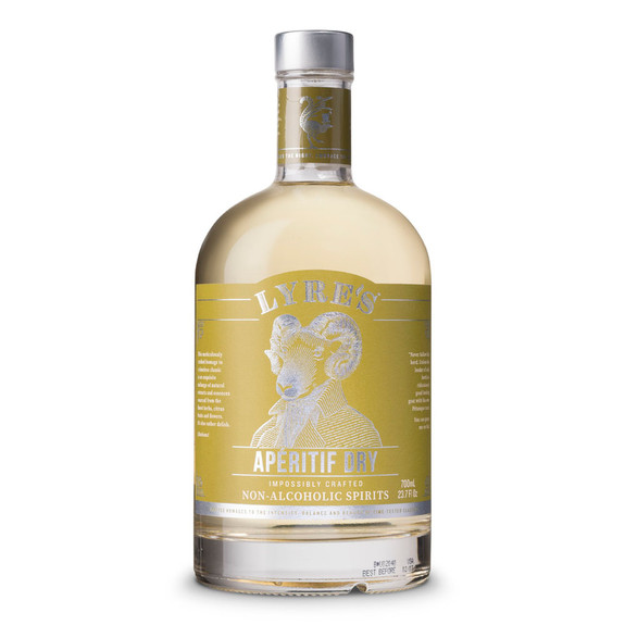 Lyre's Aperitif Dry Non-Alcoholic Spirits - 700ml