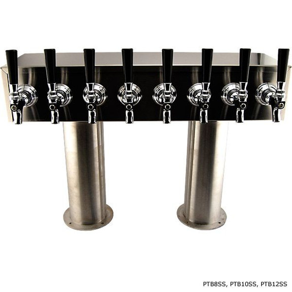 Stainless Steel Glycol-Ready H Towers with 4-inch Pedestal