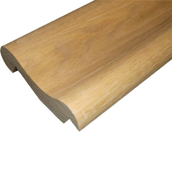 Traditional Wood Bar Arm Rest Molding - Oak