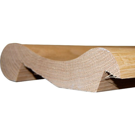 Traditional Wooden Bar Arm Rest Molding - Oak