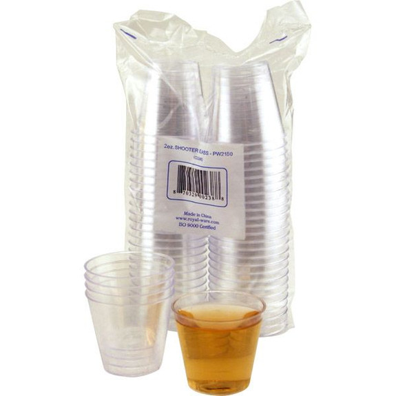 Plastic Shot Cups 2 ounce