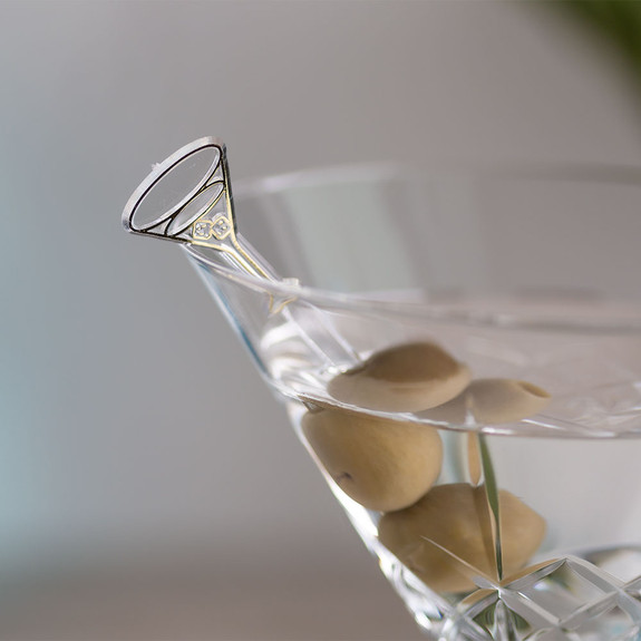 Martini Plastic Olive Picks