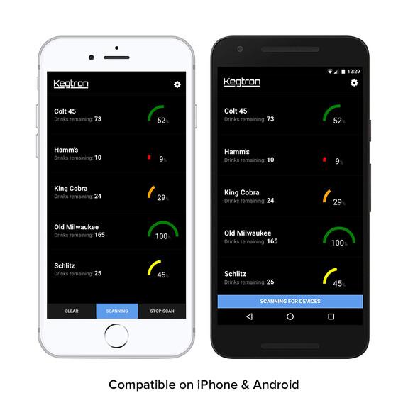 Kegtron Smart Keg Monitoring System - Tracks Keg Levels From Your Phone