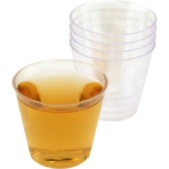 One Ounce Plastic Liquor Shot Cups