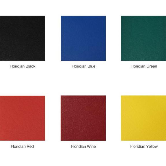 Richardson Retro Style Bar Stool with Seatback - Seat Color Options