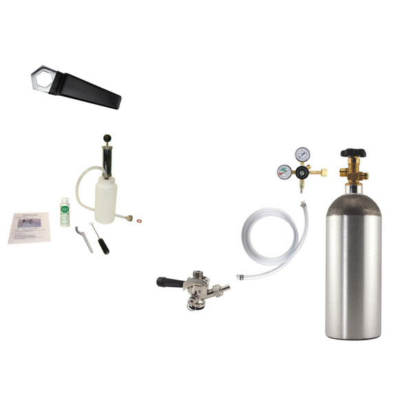 Accessory Kit for Beverage Air BM23 or Glastender KC24