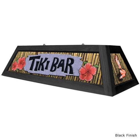 Tiki Bar Pool Table Light