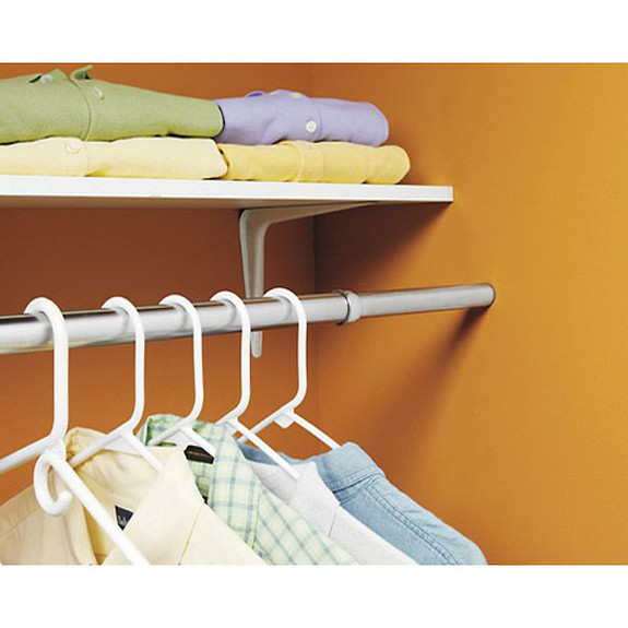 stainless steel closet rod