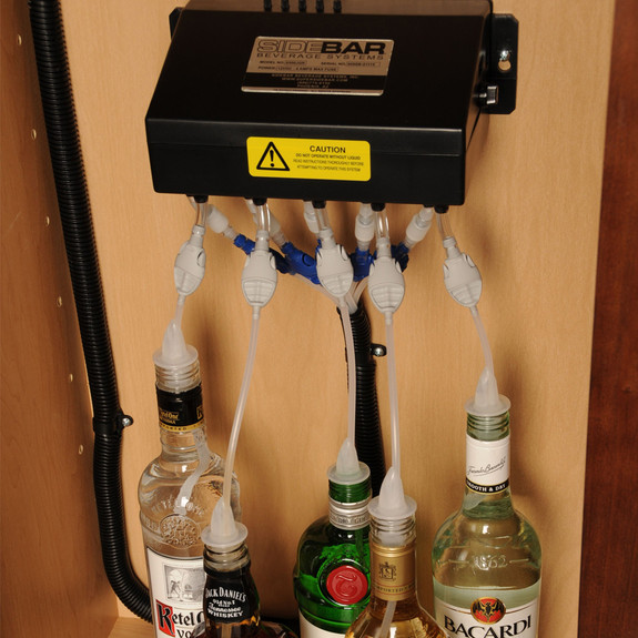 SIDEBAR® Electric Liquor & Beverage Dispenser System
