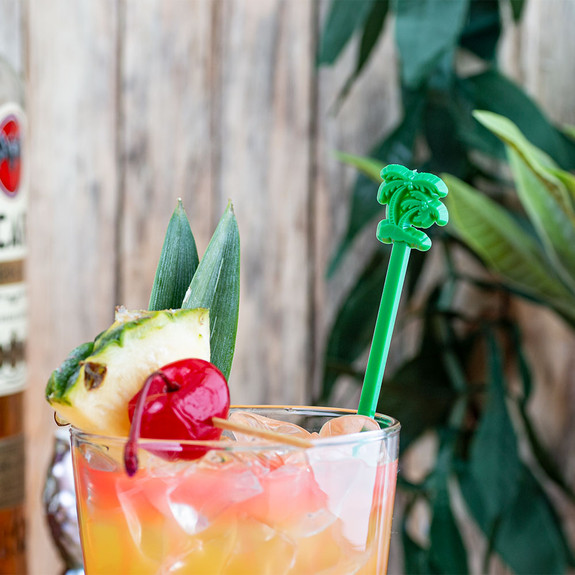 Palm Tree Cocktail Stirrers