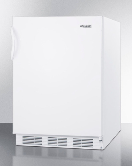 Summit Commercial Refrigerator - 5.5 cu. ft. - White