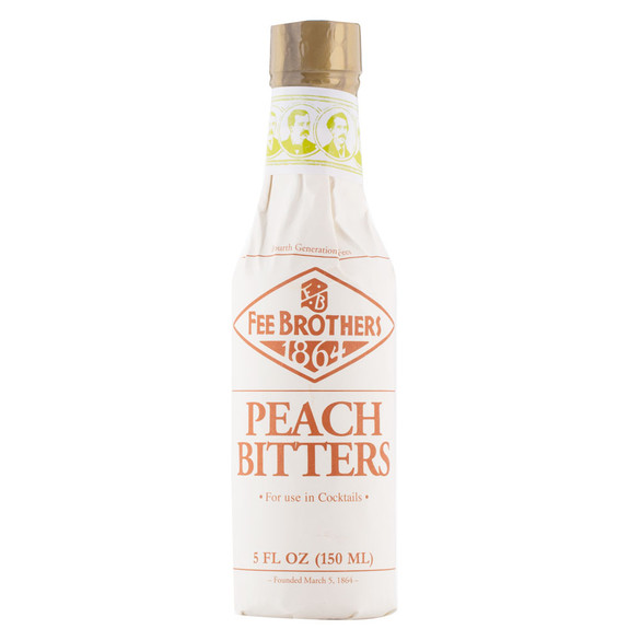 Fee Brothers Bar Cocktail Bitters - Peach Bitters