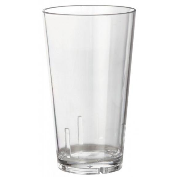 Acrylic Beer Pint Glass - Break Resistant - 16oz