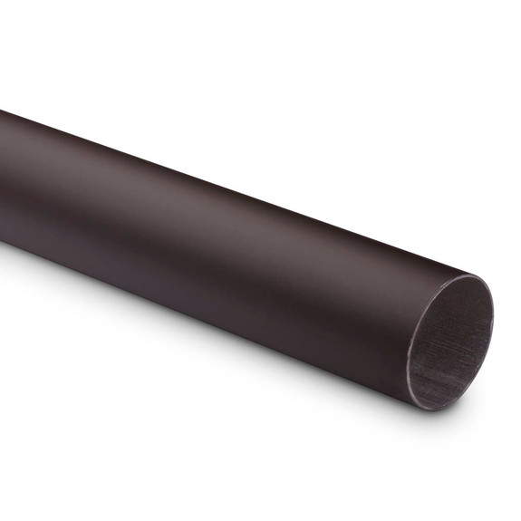 "Bar Foot Rail Tubing - Oil Rubbed Bronze - 2"" OD"