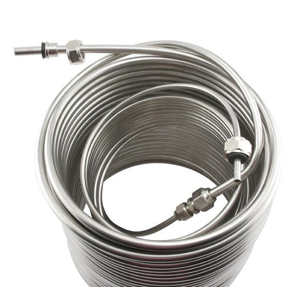 Stainless Steel Coil for Jockey Box from the top
