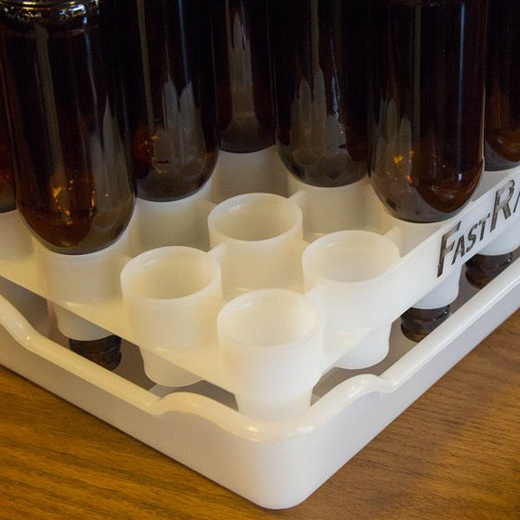 Tray for FastRack Homebrew Beer Bottle Drying Rack