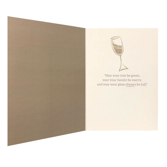 Holiday Greeting Card - A Holiday Toast