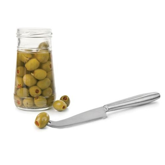 Stainless Steel Bar Knife with Pronged Tip is great picking up cherries and olives