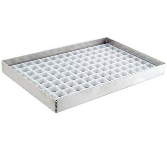 Drip Tray with Plastic Grid