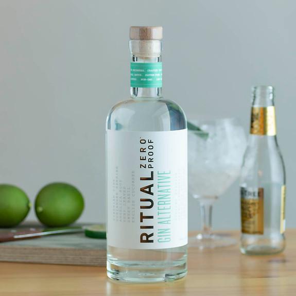 Ritual Gin Alternative - Zero Proof - Non-Alcoholic - 750ml