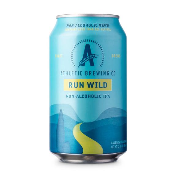 Athletic Run Wild IPA Non-Alcoholic Near Beer - 12 oz Can