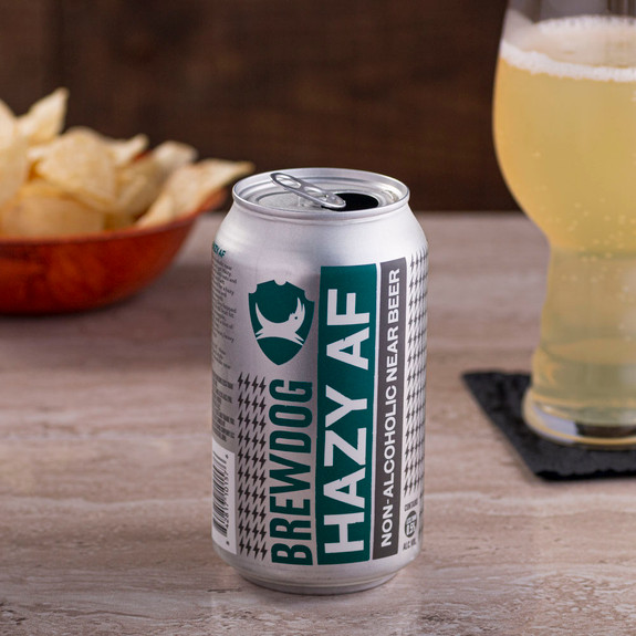 Brewdog Hazy AF Non-Alcoholic Near Beer - 12 oz Can