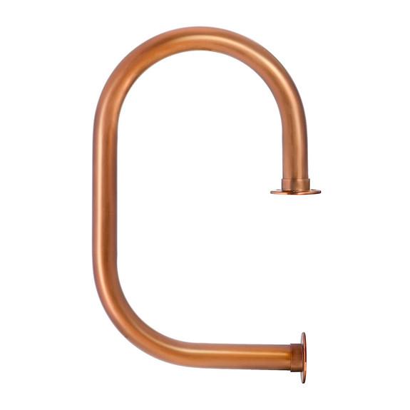 """KegWorks Classic Service Bar Rail - Sunset Copper - 2"""" OD"""