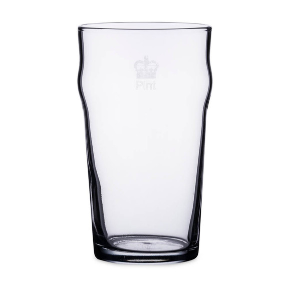 Authentic British Style Imperial Pint Glass with Etched Seal