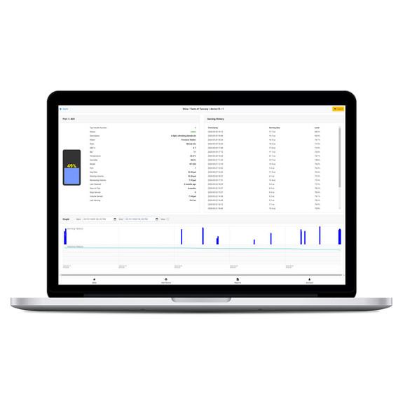Kegtron Pro Keg Monitor Dual Tap