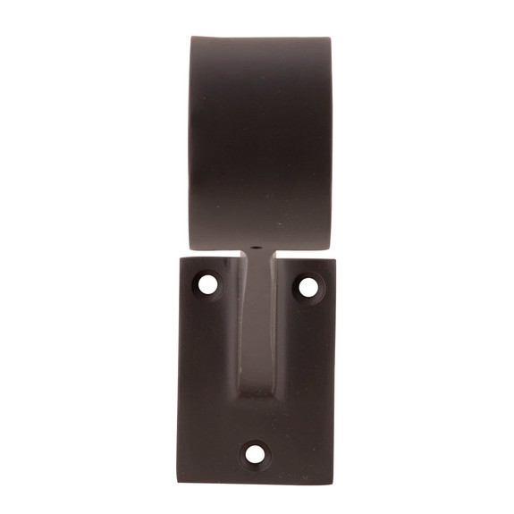 "Contemporary Bar Rail Bracket - Oil Rubbed Bronze - 2""OD"