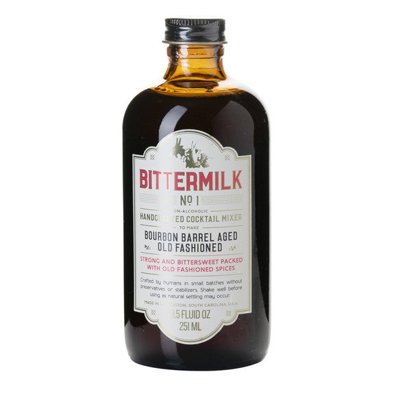 Bittermilk No. 1 Bourbon Barrel Aged Old Fashioned Mixer