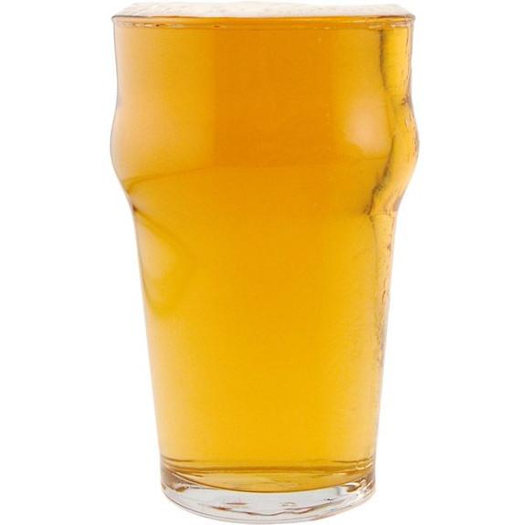 British Half Pint Beer Glasses - 10 oz - Set of 12