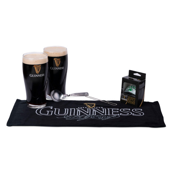 Guinness Stout Beer Lovers Gift Set - 5 Pieces